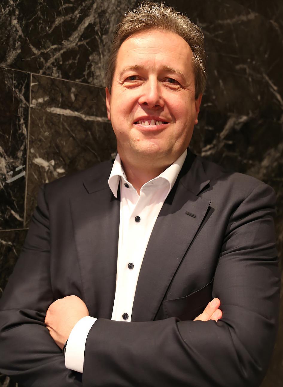 CEO Jörg Wiedemann