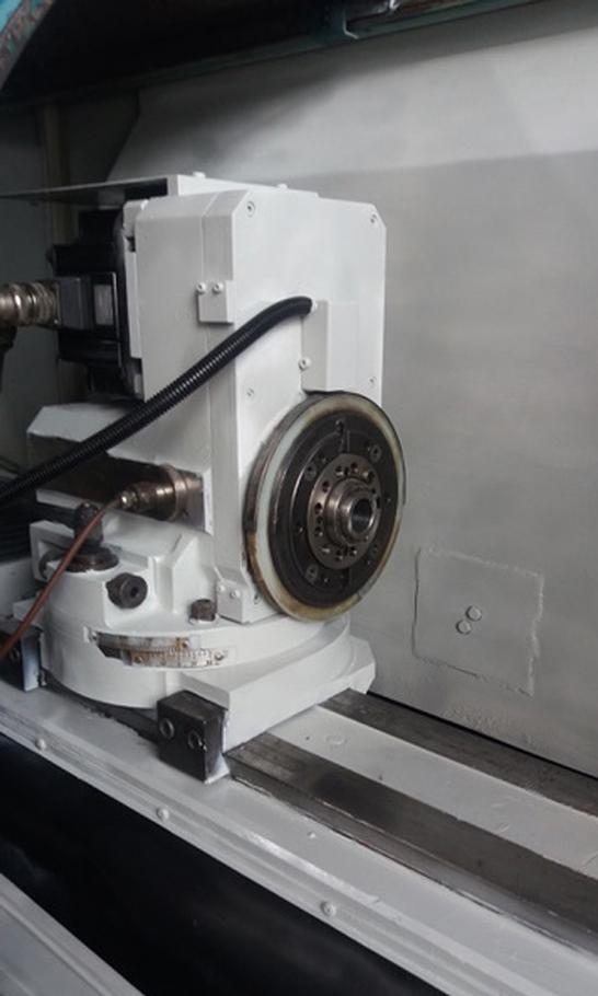 rotazione pezzo rettificatrice tacchella